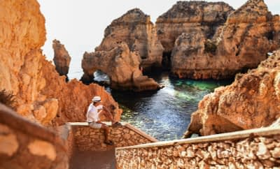 Ponta da Piedade by the eyes of our Guest