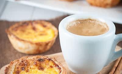 Coffee and Pastel de Nata